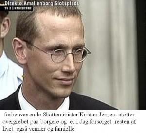 Skatte Minister Krisran Jensen