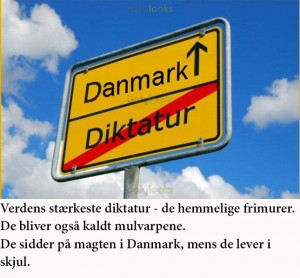 danmark Dikatur
